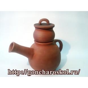 Керамический заварочный чайник с инфундиркой