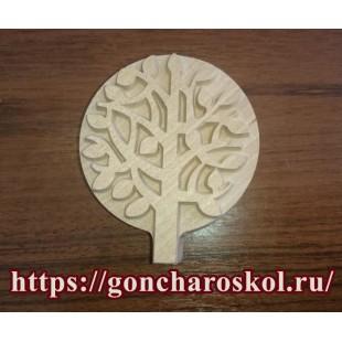 Штамп для набойки Дерево-2М (70х80)